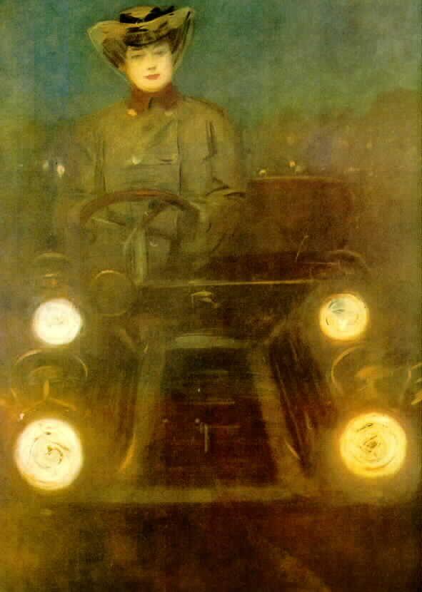 Ramon Casas.Anónimo de la Piedra PinIt