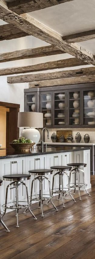 tiffany farha design modern rustic kitchen - Rustic Kitchen Design Pictures