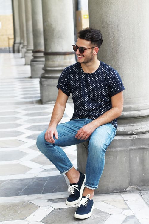 #street #casual #dots #style