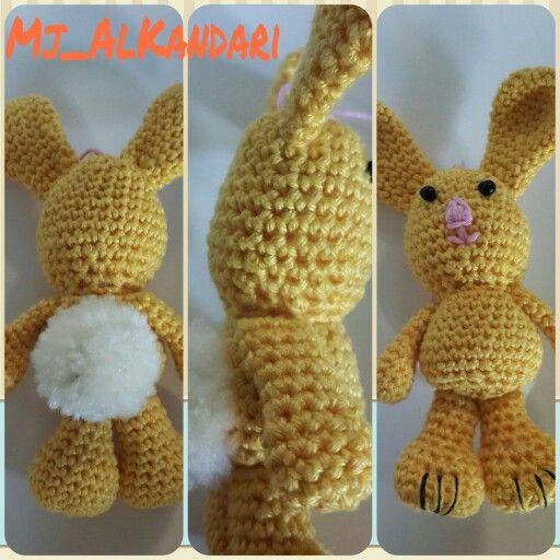Little crochet bunny