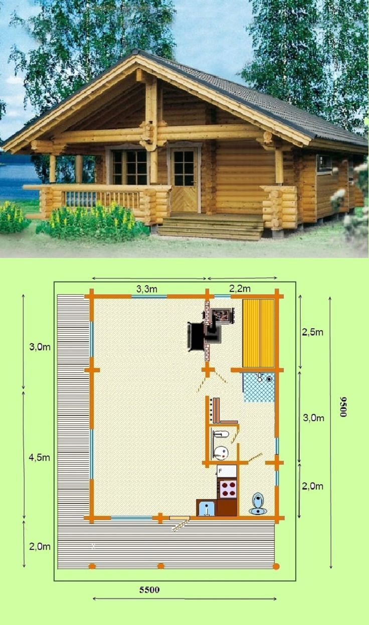 White house front yard images amp pictures becuo - Designs 25m2 70m2 Quality Log Cabins And Timber Frame Houses From Latvia