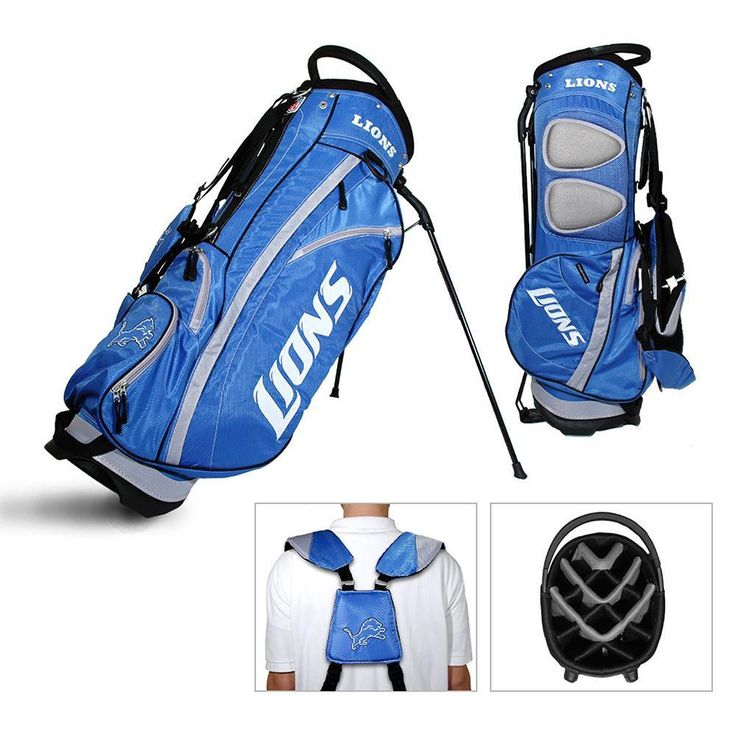 Detroit Lions NFL Stand Bag - 14 way Fairway