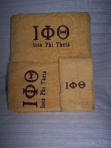 Iota Phi Theta towels