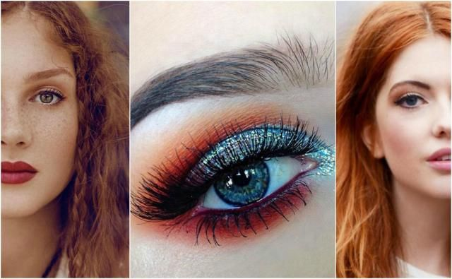 Rude włosy. Jaki makijaż wybrać?