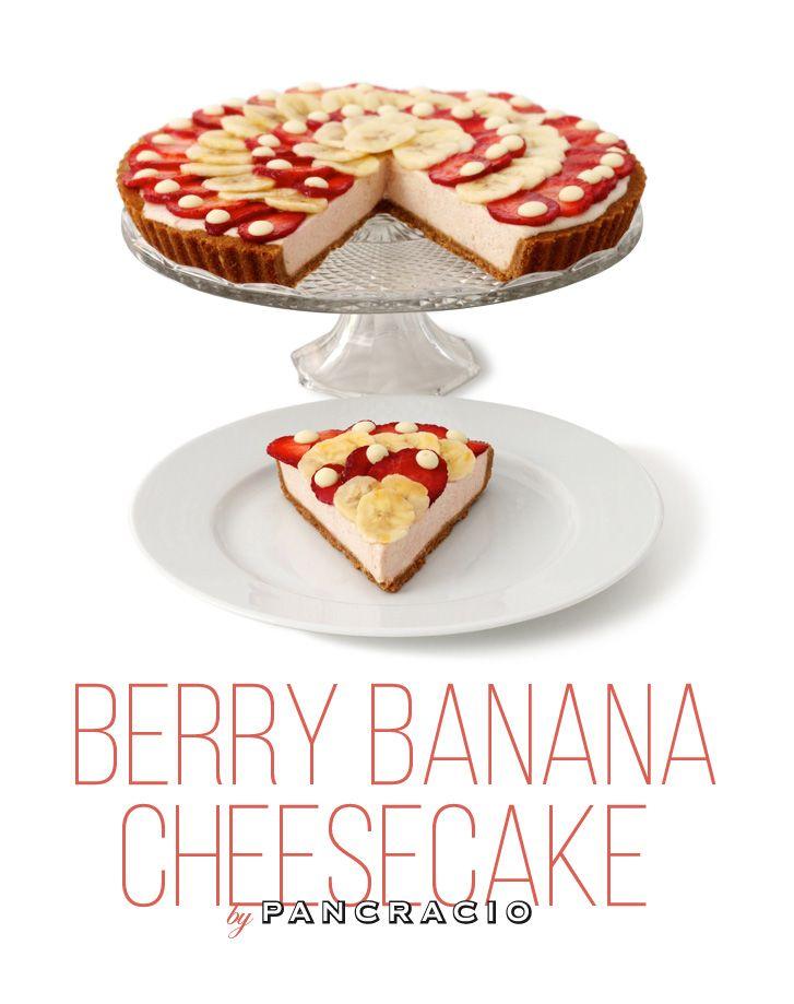 Para celebrar los 50 años del estreno de la Pantera Rosa, le hemos dedicado esta suave cheesecake ligera, simpática y sutilmente dulce. Muy al gusto de Blake Edwards. Y muy amo rosa.