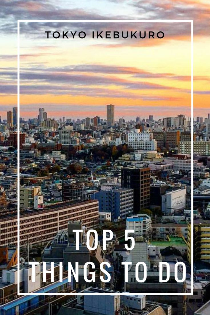 Things to do in Ikubukuro - Toshima, Tokyo! Where to eat, what to see and where to go! Discover Tokyos biggest disctrict with art and culture spots! #japan #tokyo #visittokyo #ikubukuro #toshima