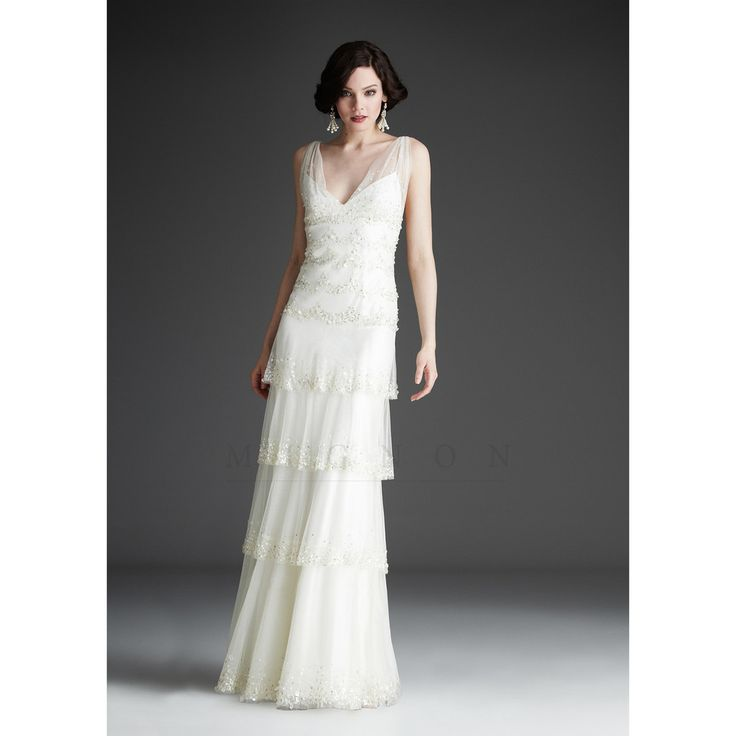 DOMENIQUE Wedding Dress - WHITE COLLECTION – Roman & French - Leader in Bridal Jewellery, Hair Accessories and Wedding Gifts.