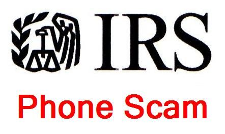 Fake Internal Revenue Service-IRS Phone Agent Scam Targeting Taxpayers: If you receive a telephone call, and the caller identifies him/her self as the Internal Revenue Service (IRS), and claims that you owe taxes and demand payment via wire transfer, credit or prepaid debit card, please terminate the call. This is a scam, and thousands of taxpayers are being targeted by these scammers, who threaten them with arrest or deportation....