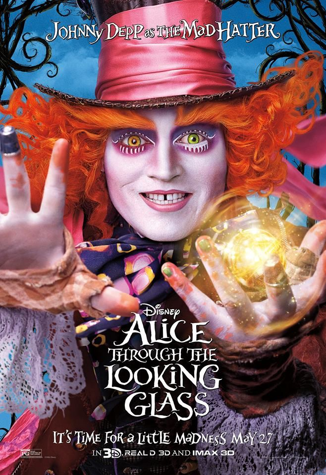 Alice through the Looking Glass Character Poster #2 - The Mad Hatter