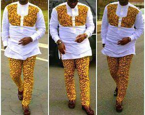Nouveau vêtement africain pour les hommes, haut et bas pour hommes, mode masculine, mode chemise et pantalon, usure africain pour les hommes