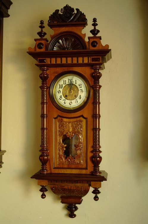 Dating Gustav Becker Clocks
