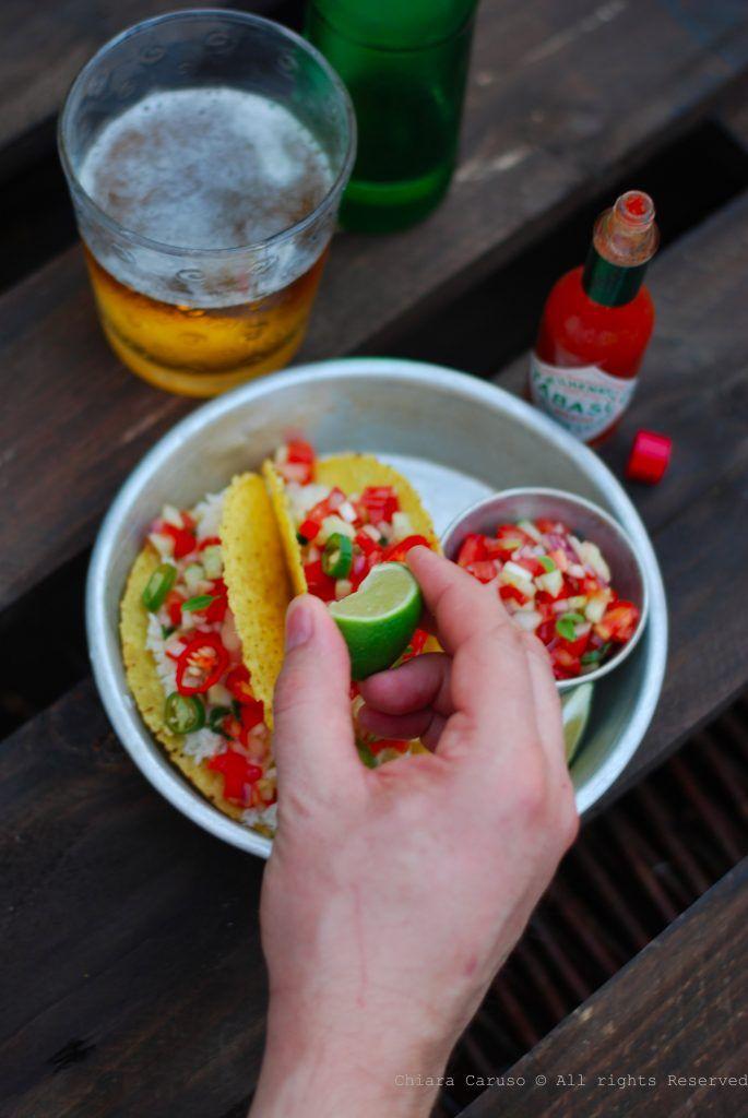 tacos al granchio piccante