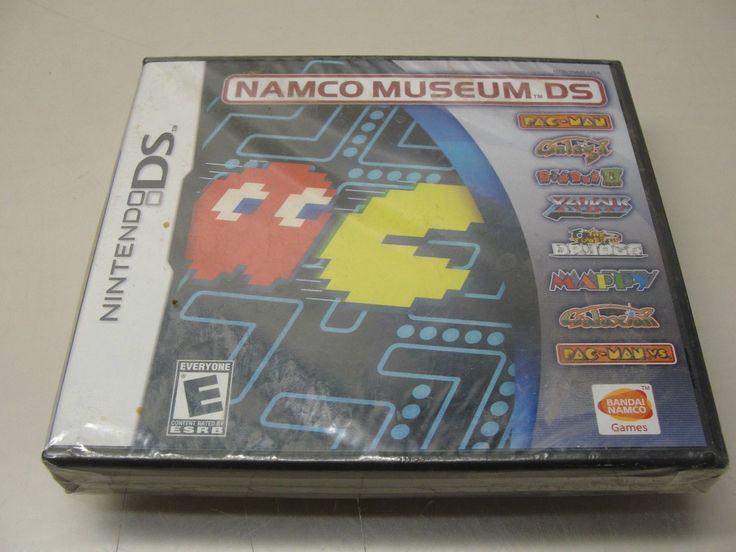 NEW 2007 NINTENDO DS NAMCO MUSEUM VIDEO GAME PAC MAN GALAGA DIG DUG MAPPY: $40.00 (0 Bids) End Date: Wednesday Mar-7-2018 14:57:36 PST Bid…