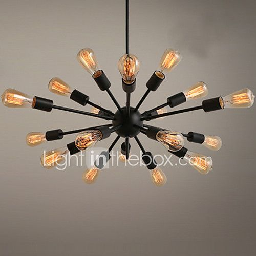 Chandelier , Traditional/Classic Painting Feature for Designers Metal Living Room Bedroom Study Room/Office Game Room - USD $76.79 ! HOT Product! A hot product at an incredible low price is now on sale! Come check it out along with other items like this. Get great discounts, earn Rewards and much more each time you shop with us!