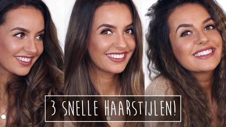 3 snelle haarstijlen (handig voor op reis!) | Paulien Tilstra