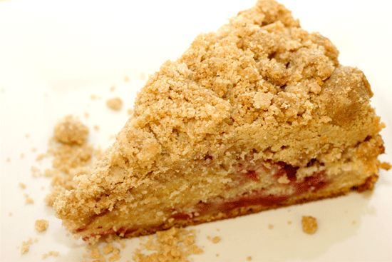 pickycook.com | raspberry crumb cake