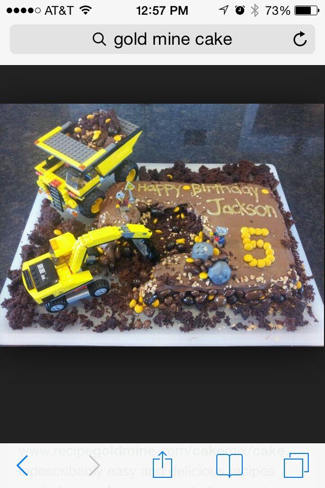 Gold rush cake