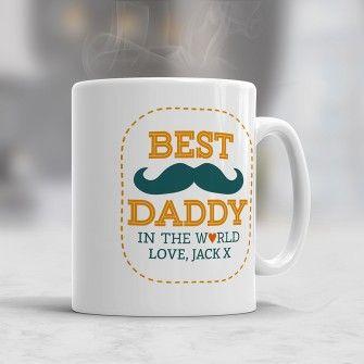 Best Daddy Personalised Mug