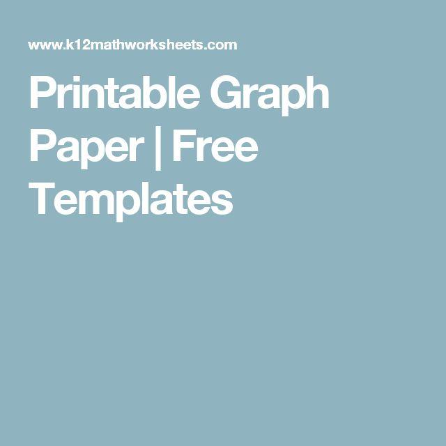 25+ beste ideeën over Printable graph paper op Pinterest - free graph paper templates
