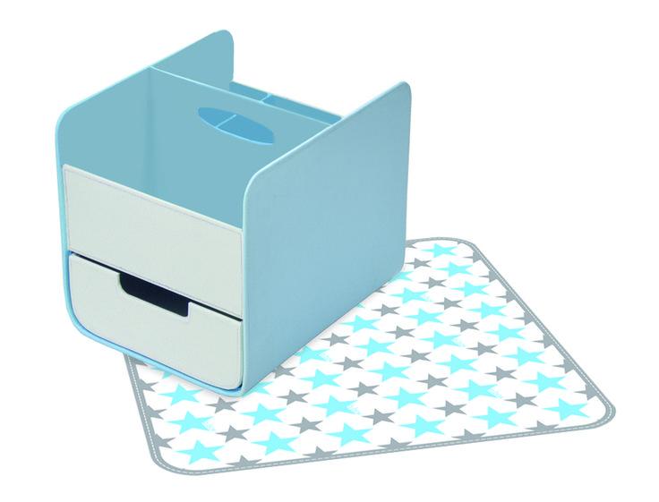 Blue Lagoon - diaper/nappy caddy http://www.bbox.com.au/shop/essential-nappy-caddy/essential-nappy-caddy-blue-lagoon