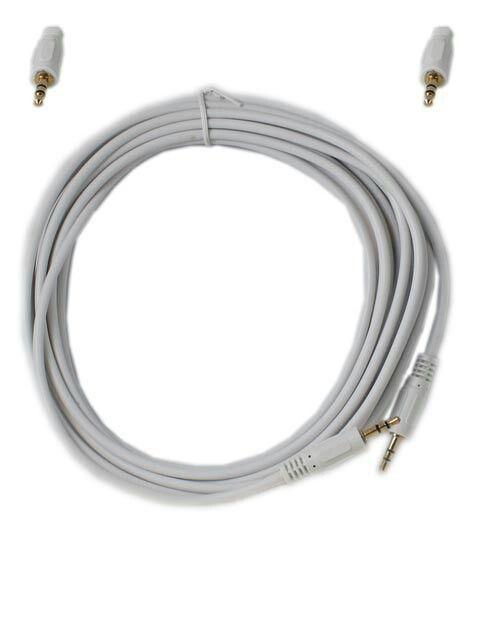 Kabel Audio 3.5mm M-M 5m Gold  Harga rp65.000 Info detail di : www.tokomipo.com Dapatkan harga spesial khusus member di www.tokomipo.com