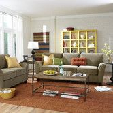 Found it at Wayfair - Muse Living Room Collection (Great deal: sofa + Loveseat + Ottoman = 1051.17 Then maybe get a accent chair with a cool pattern?)