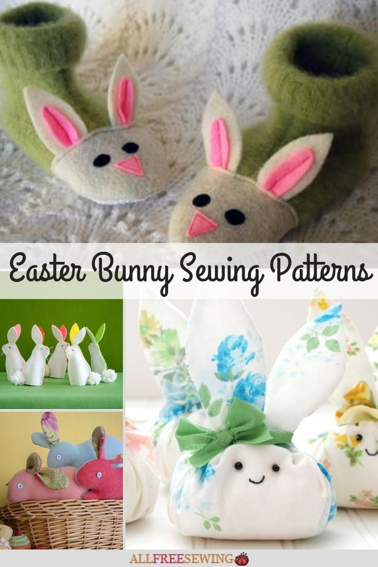 35 Easter Bunny Sewing Patterns Bunny Crafts Diy Crafts For