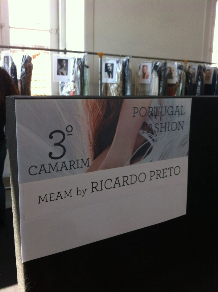 backstage #meambyricardopreto #portugalfashion