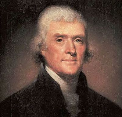 Thomas Jefferson, statesman, inventor, founding Father