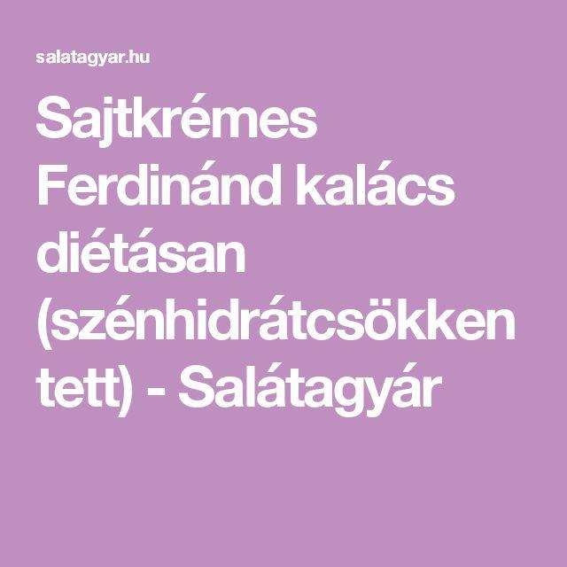 Sajtkrémes Ferdinánd kalács diétásan (szénhidrátcsökkentett) - Salátagyár