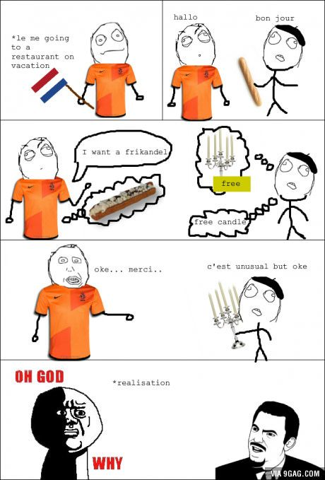 Dutchies talking english
