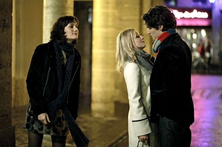 Clotilde Hesme, Ludivine Sagnier, Louis Garrel, 2007   Essential Gay Themed Films To Watch, Love Songs (Les Chansons d'amour) http://gay-themed-films.com/love-songs/