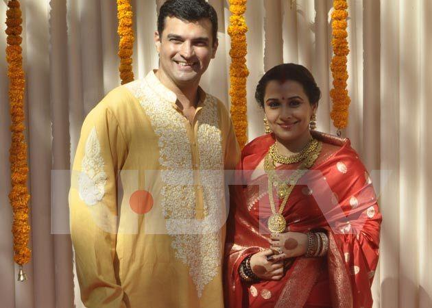 Vidya Balan Is Now Mrs Siddharth Roy Kapur