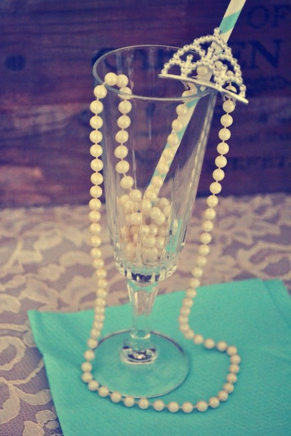 7 Must Have Tiffany's Party Ideas | CatchMyParty.com
