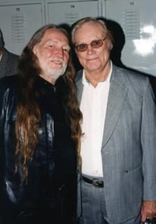 Willie Nelson & George Jones.. // For more country/western inspirations, visit www.broncobills.co.uk