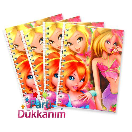 Winks Not Defteri 4 Ad (9x13 cm) 50 s fiyatı