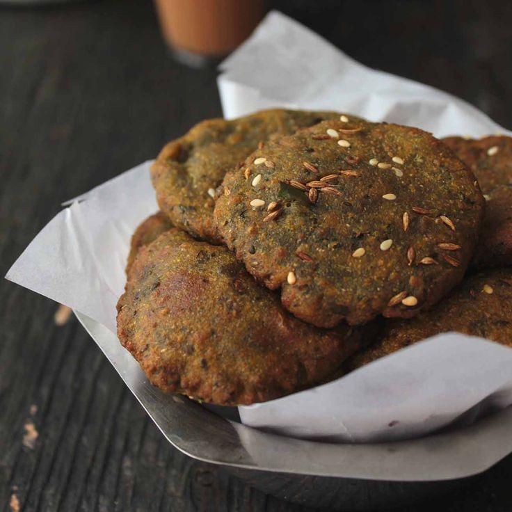 Bajri Methi Na Vada Recipe (Pearl Millet Flour Fritters)
