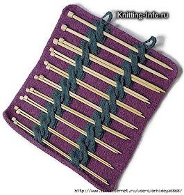 Porta agujas: Felt Knits, Cases Patterns, Knits Crochet, Knits Needle Cases, Knits Patterns, Needle Holders, Knits Cases, Free Patterns, Felt Needle