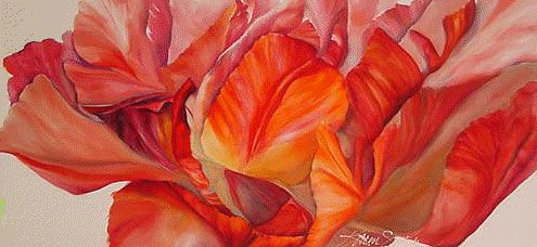 The 479 best silk painting flowers images on pinterest silk painting on silk mightylinksfo