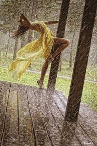 Winter is a favorite season especially when it rains