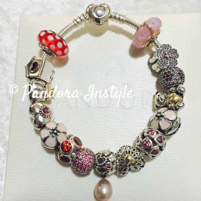 One of our fabulous pastel tone!  Australia based online store selling Authentic Pandora Brand New/ Pre-loved discount 15-30%OFF.