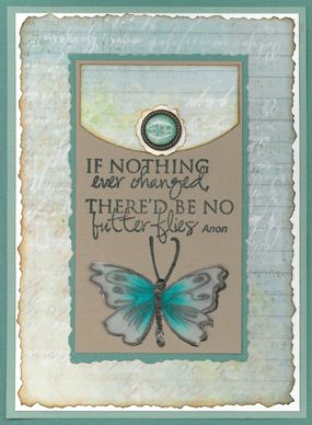 Stamp-it Australia: 4227D Pretty Butterfly, siset035 Change - Card by Susan