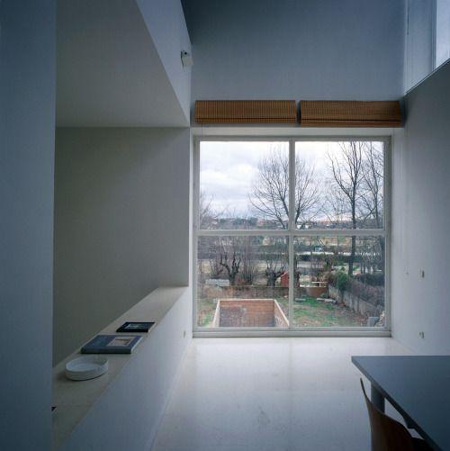 Alberto Campo Baeza - The 10m X 10m X 10m Turegano House, Madrid...