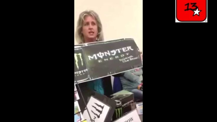 monster energy drinks are the work of SATAN/Bebidas energéticas Monster ...