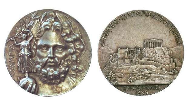 1896 Atenas - No hubo oro en la primera Olimpiada de la era moderna. Los…