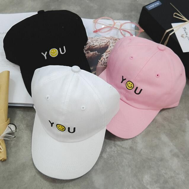 Women'S Cartoon Smiley Face Cap Sun Hat