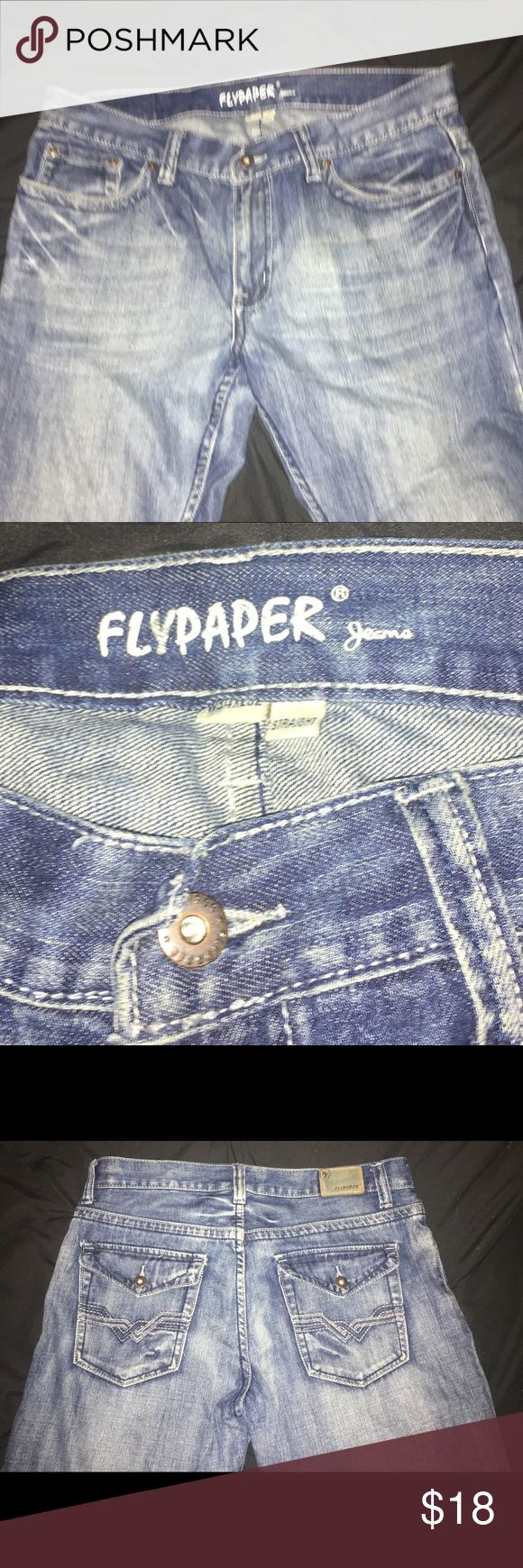 Men's Flypaper Jeans Men's size 34/32 Flypaper jeans. Great used condition Flypaper Jeans Straight