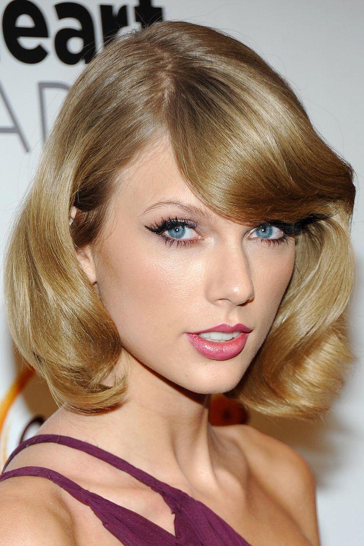 Taylor Swift bob hairstyle
