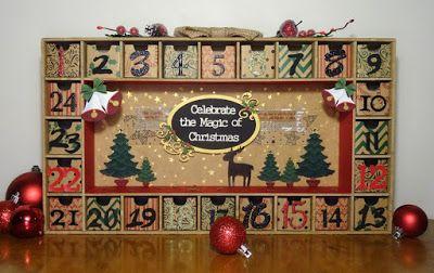 Scrapmatts: Christmas Advent Calendar - Lauren Tomecek