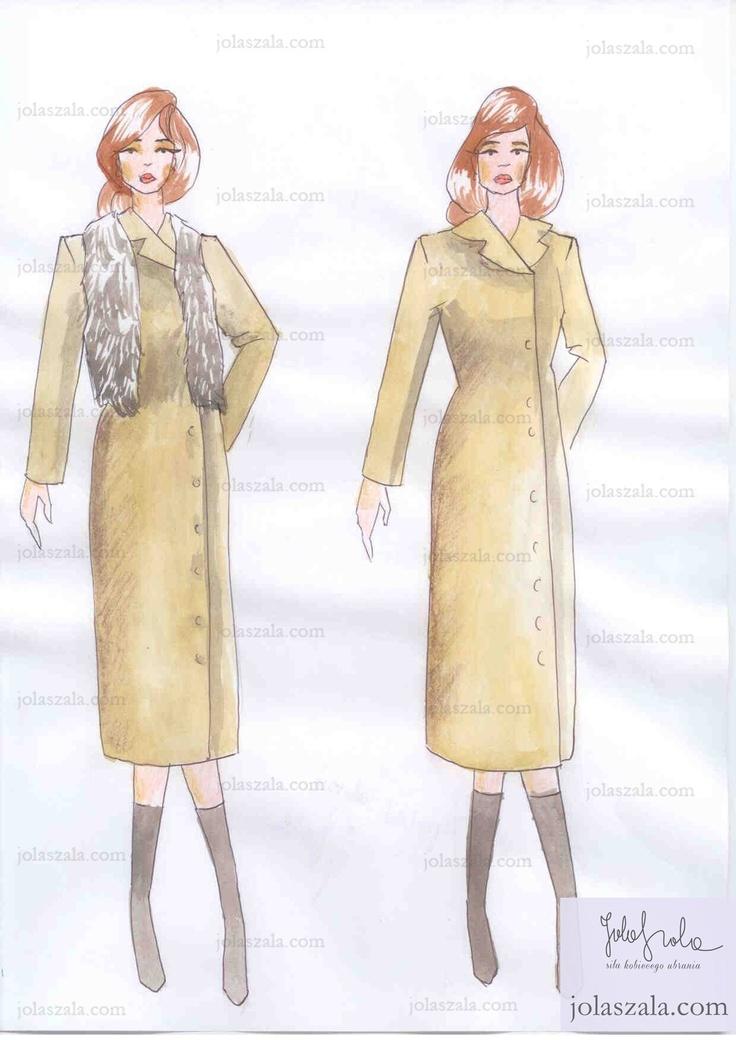 - Klasyczny płaszcz za kolano łatwo poddaje się wszelkim metamorfozom, noszony ze spodniami rurkami, szalem, paskiem, różnymi butami, rękawiczkami i torbami, za każdym razem wygląda inaczej. on Jola Szala - Siła kobiecego ubrania  http://jolaszala.com/porady-joli/kurtka-dla-tezszej-sylwetki/#sg3